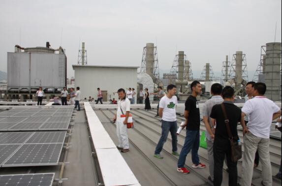淘光伏第16期光伏培训班在苏州成功举办